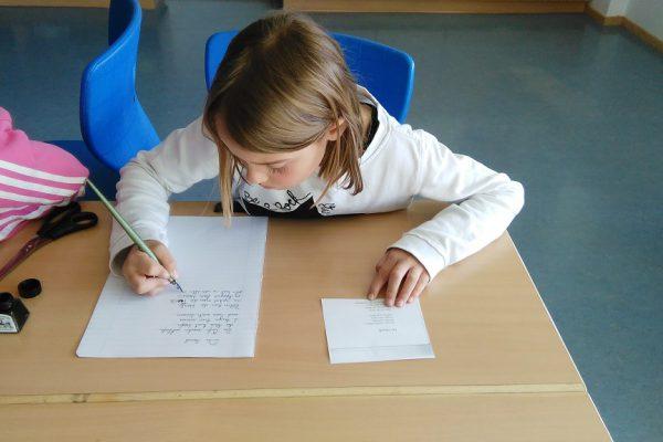 Schreibübungen wie in alten Zeiten